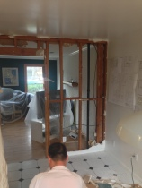 Non-bearing Wall Removal and Relocation.