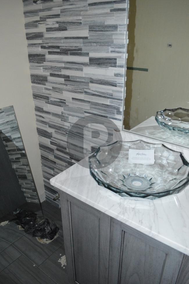 Fairlakes, VA, bathroom remodel 4